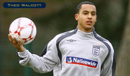 Walcott - England