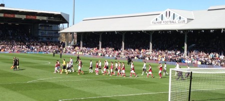 Fulham v Arsenal _ Craven Cottage 2013